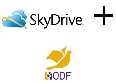 SkyDrive + ODF